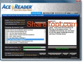 AceReader Elite 10.0 screenshot